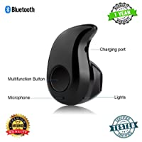 Sketchfab Mini S530 Stereo Bluetooth 4.1 Headset Earphone Earbud for All Smartphones (Black)