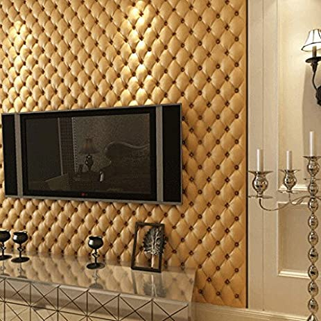 sound absorbing wallpaper  Amazon.com: Buggy Bedroom stereo mold proofing antibacterial leather ...