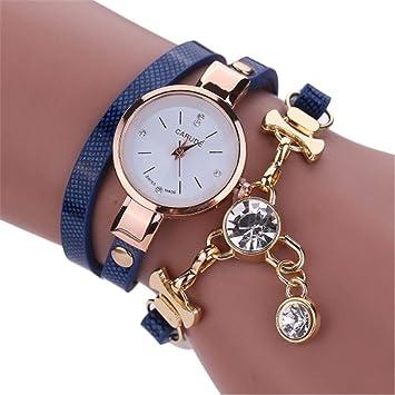 NEW Fashion Women Watch Bracelet Leather Ladies Watch With Rhinestones Analog Quartz Dress Wrist Watches Gift