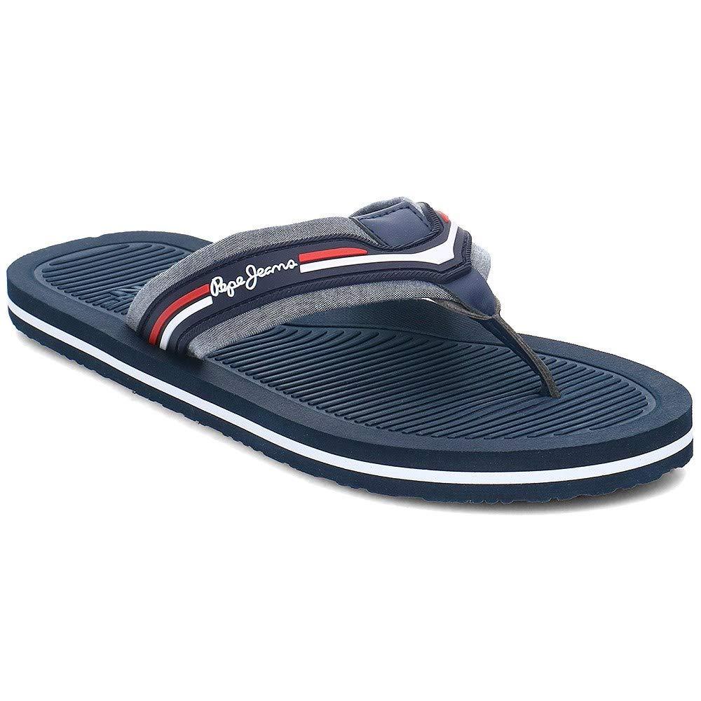 Pepe Jeans Sandalia Hombre Off Beach Chambray Azul