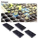 4 PCS 50 Holes Cells Seedling Starter Trays Plant Flower Pots Nursery Grow Box Tray Plug Planting Planter Container Kangkang
