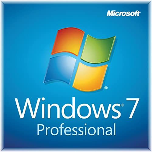 Windows 7 Professional SP1 64bit (OEM) System Builder DVD 1 Pack [Old Version]