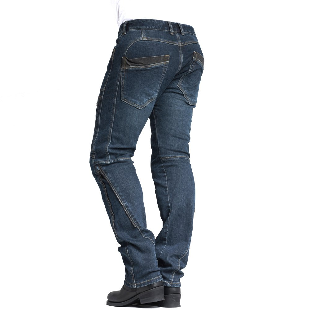 reputable site 76779 d6278 MAXLER JEAN Biker Jeans for men Motorcycle Motorbike riding Jeans 002 Blue  30