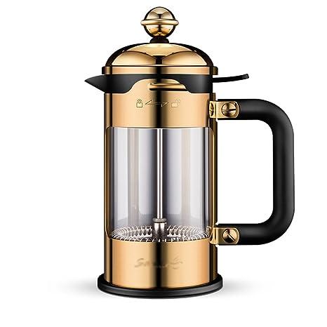 Olla de presión Máquina de café manual Inicio Taza de filtro de acero inoxidable Máquina de