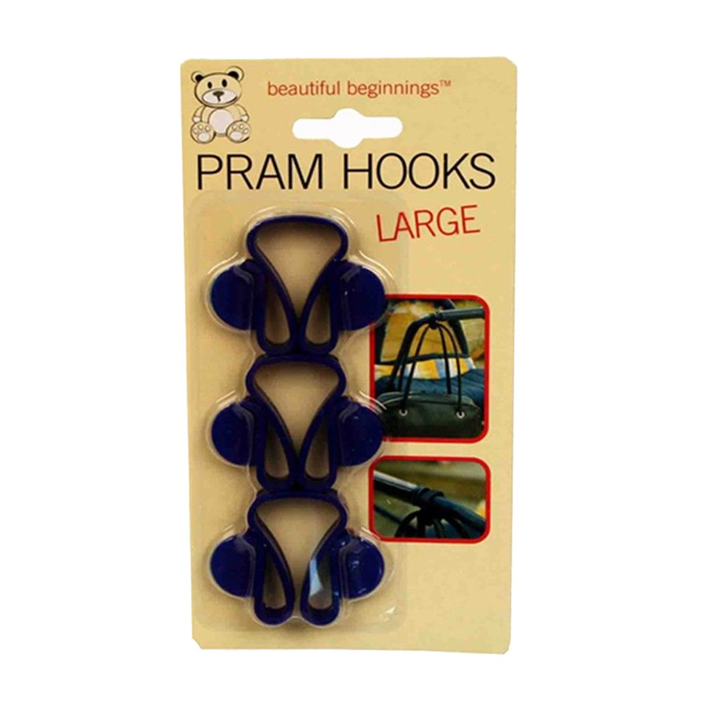 BEAUTIFUL BEGINNINGS Large Pram Hooks 8
