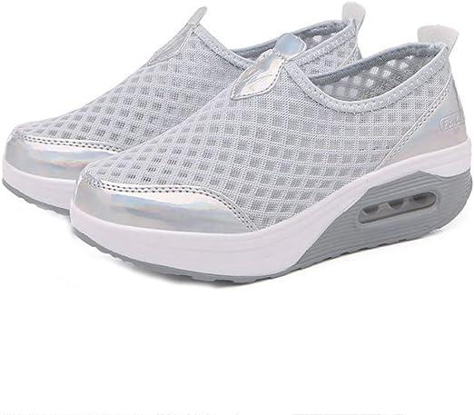ZPWY Mujer Gimnasia Ligero Sneakers Zapatillas de Deportivos de ...