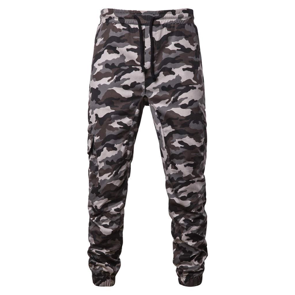 Pantalones Largos Deportivos Para Hombre Ropa De GIMNASIO Chándal De Moda Casual