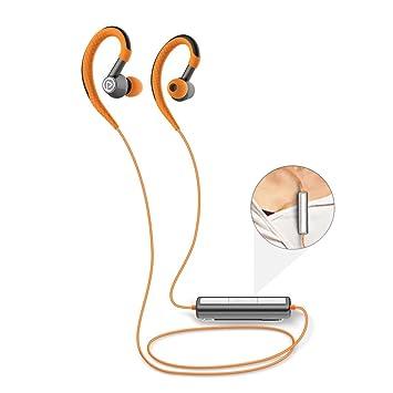 Pisen deportes auriculares inalámbricos auriculares Bluetooth a prueba de sudor y resistente al agua Running Auriculares: Amazon.es: Electrónica