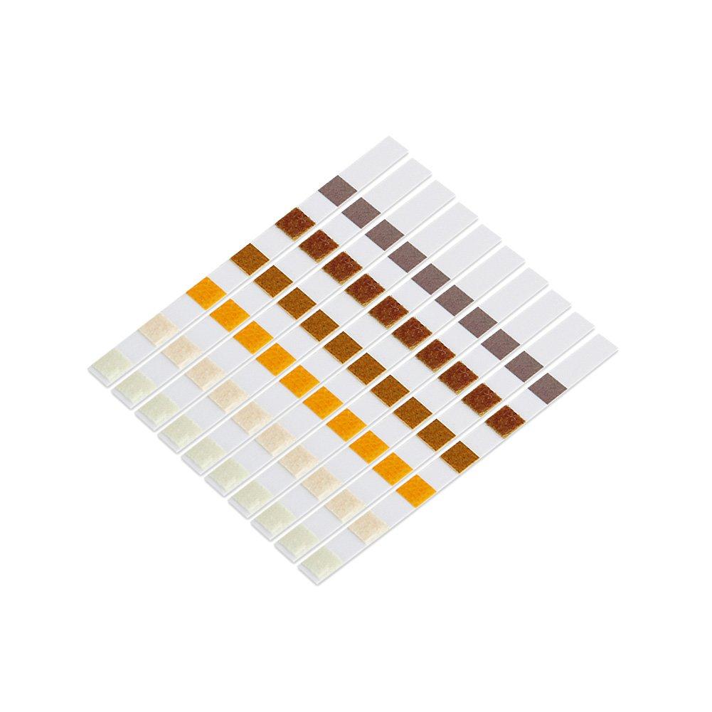 Guajave 50Pcs 6 In 1 Swimming Pool SPA Test Strips Chlorine pH Alkalinity Water Hardness Testing Tool