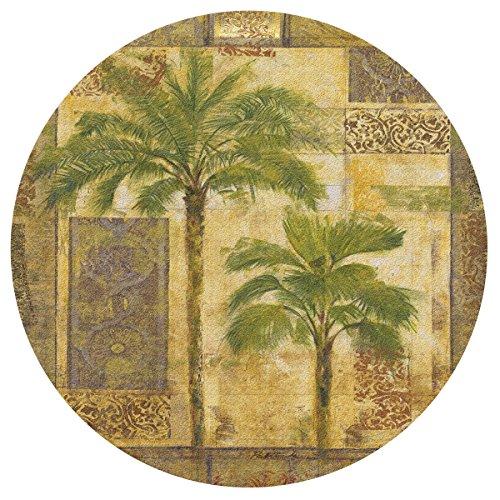 - Thirstystone Palm Trees-I Cork Trivet