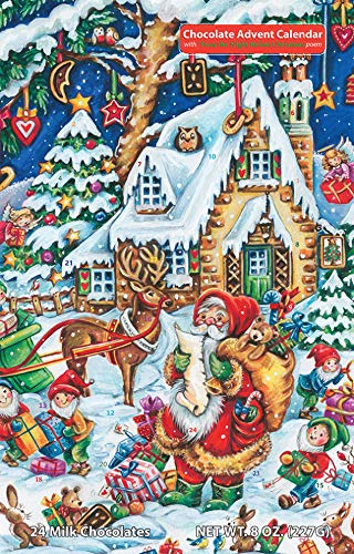 Santa's Helpers Chocolate Advent Calendar (Countdown to Christmas)