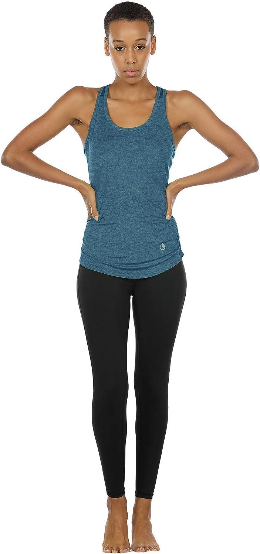 icyzone Backless Canotta da Donna per Sportivo Yoga