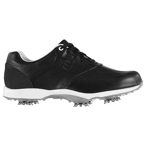 4b86836c402 Footjoy Embody Ladies Golf Shoes Spikes Trainers Footwear Black (UK4)  (EU36.5