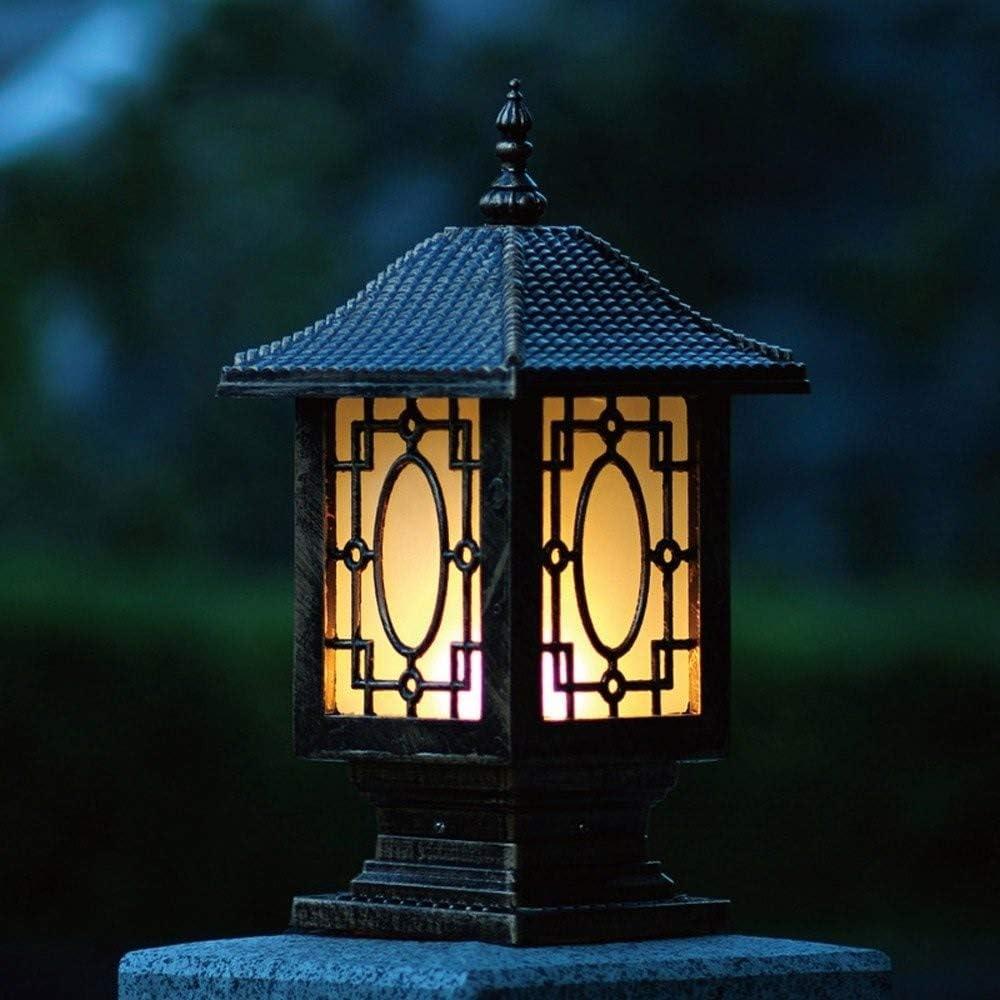 MUMUMI Pilier Applique Lampadaire Lampe de Jardin Portail
