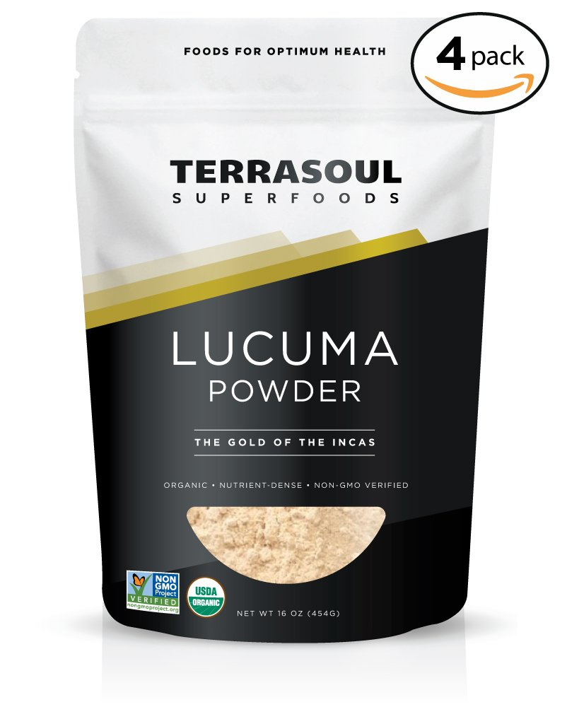 Terrasoul Superfoods Organic Lucuma Powder, 4 Pounds by Terrasoul Superfoods