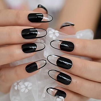 EchiQ - Extensiones de uñas postizas de acrílico, largas ...