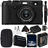 Fujifilm X100F 24.3 MP APS-C Digital Camera Bundle with Carrying Case + 32GB Memory Card - International Version