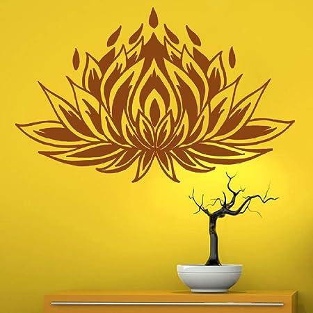 guijiumai Dctal Yoga Club Sticke Lotus Decal Posters Vinilo ...