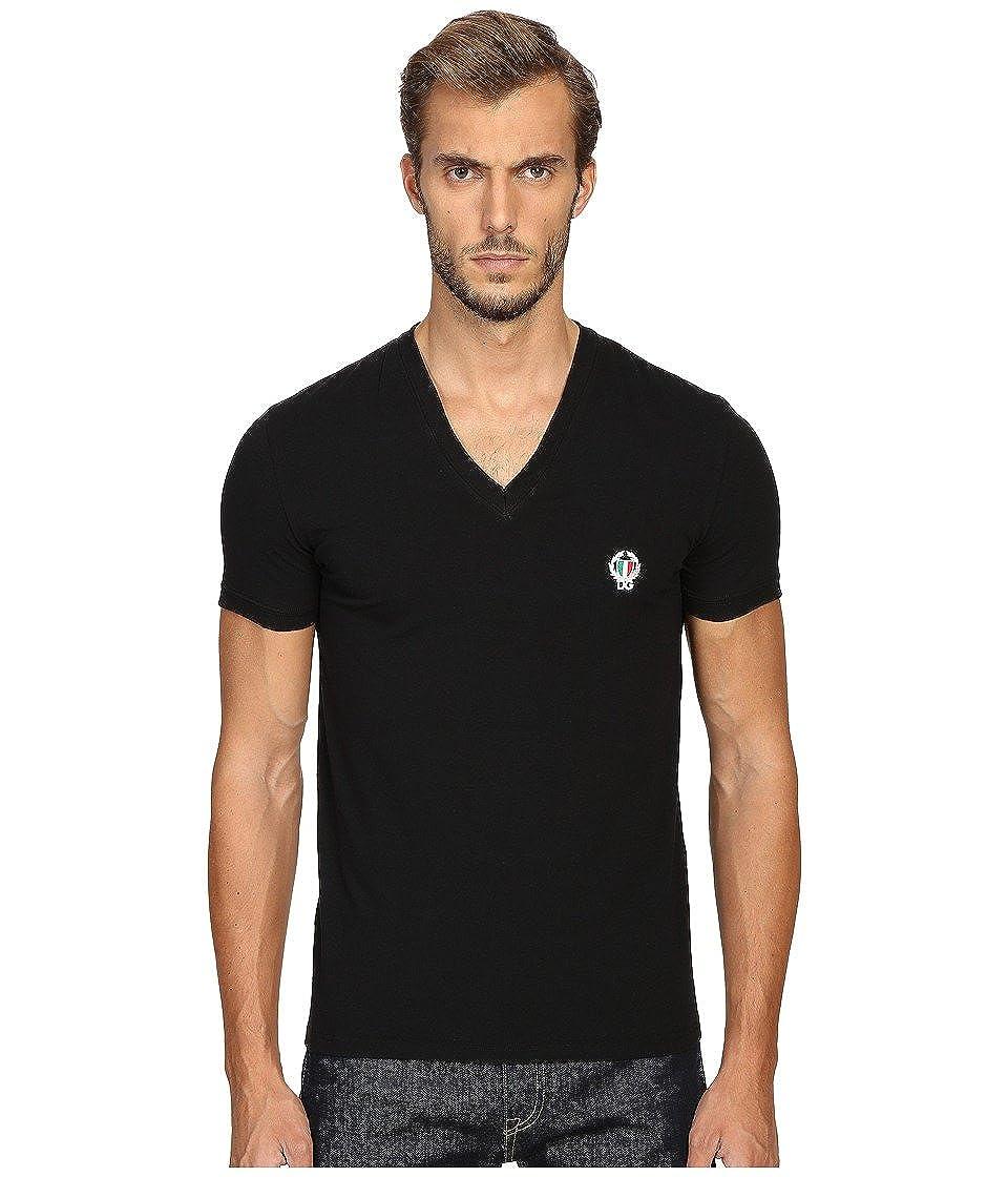 Dolce & Gabbana ropa interior de los hombres de la camiseta de cuello en V profundo, estiramiento S-XL - selección de color: Amazon.es: Ropa y accesorios