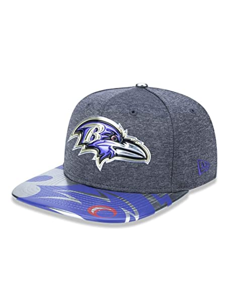 060cb7dd8 Amazon.com : New Era NFL Baltimore Ravens 2017 Draft Spotlight 9FIFTY  Snapback Cap, One Size, Graphite : Clothing