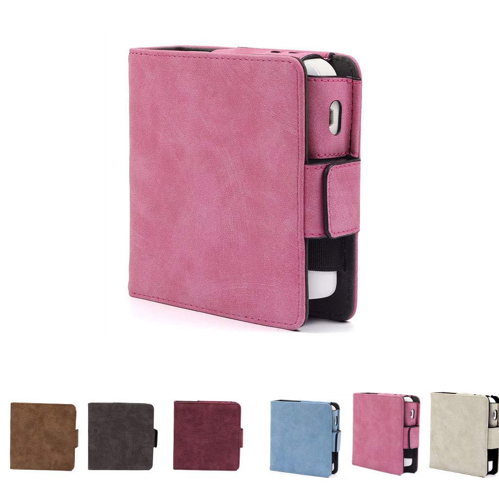 Republe Sigaretta Elettronica Solido Supporto Colore di immagazzinaggio di Caso dellorganizzatore del Sacchetto della Carta di Ricambio per IQOS