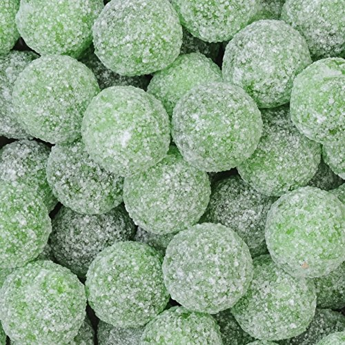 Mega Sour Apple Bombs (Extreemely Sour) 500 gram bag (1/2 (Mega Sour)