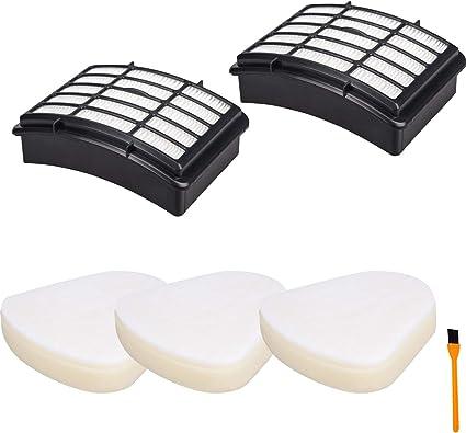 1-10 Sets Foam /& Felt Filters for Shark Navigator Lift Away NV350 Vacuum XFF350