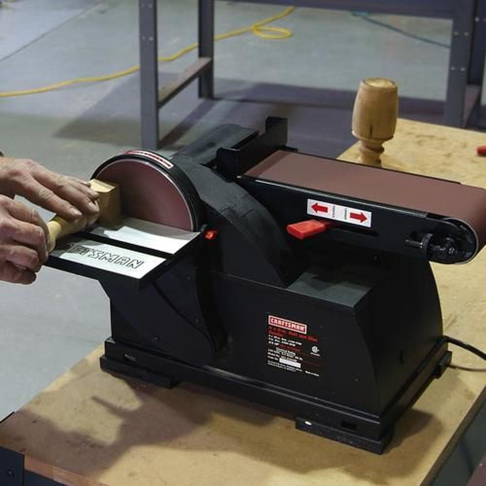 table belt sander. craftsman belt \u0026 disc sander, bench top, 4 x 36 in. and 6 - power combination sanders amazon.com table sander
