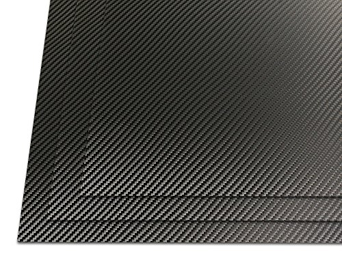 HolsterSmith: Holstex Thermoform Sheet - .080 Gauge - Carbon Fiber/Smooth Textured - Armor Black - 3 Pack