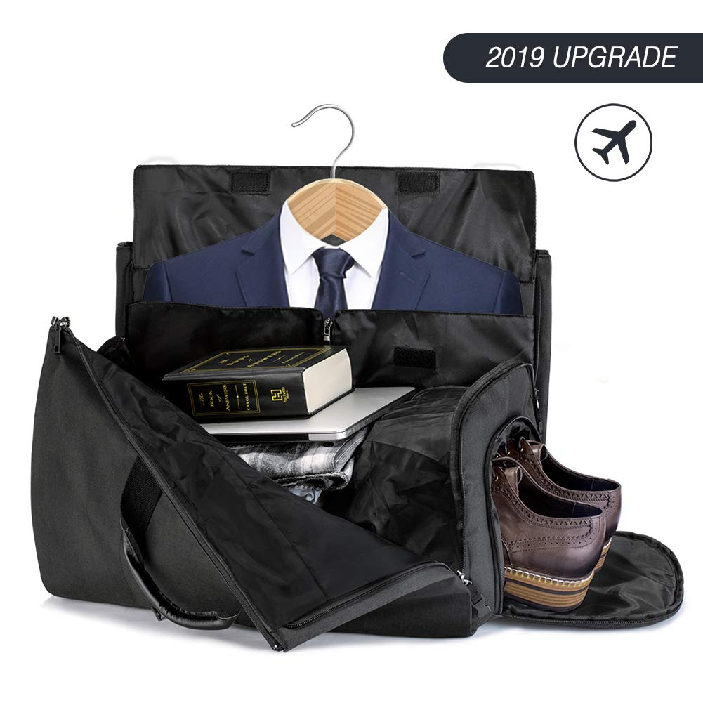 7ad82ec8e81c Amazon.com  Duffle Bag Garment Bag Carry On Weekend Bag Flight Bag For  Travel Sports Gym (Including Shoes and Suits Compartment)  Lingyingte