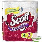 Scott Choose-A-Size Mega Roll Paper Towels (Pack of 24)