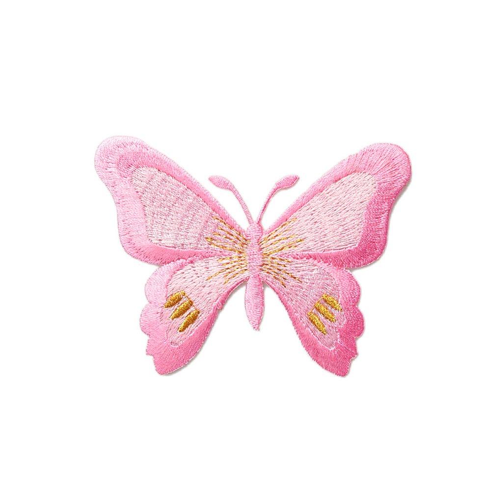 10pcs Lovey mariposa apliques hierro en parche para ...