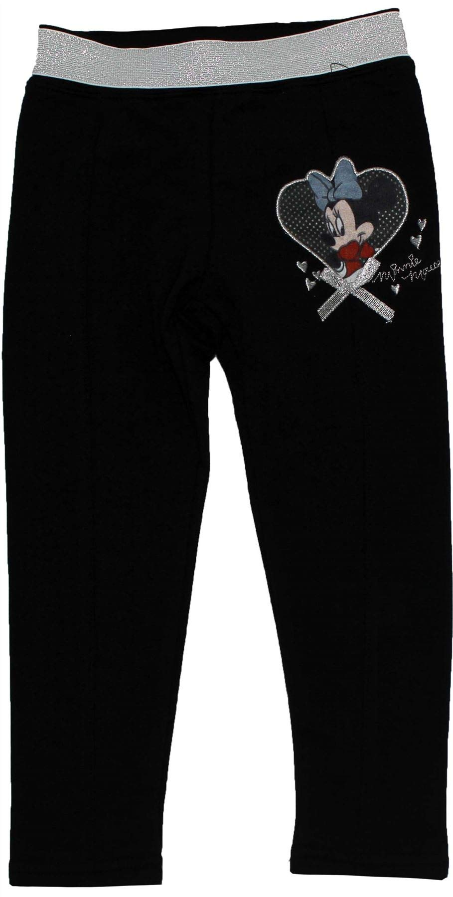 Minnie Mouse Girls Jogging Bottom Trousers Black 5-6 Years by Disney (Image #1)