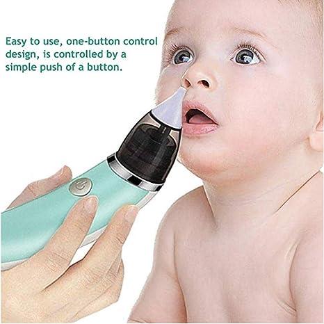 TYZY Aspirador Nasal eléctrico para bebés Carga USB Limpiador ...