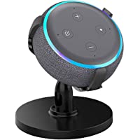 AutoSonic Table Stand Holder Compatible with Echo Dot 3rd Generation, Amazon Echo Dot Stand Accessories for Smart Home…