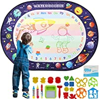 Apsung Large Aqua Doodle Mat 100 X 70 cm Water Drawing Doodle Magic Mat Educational Toys Gifts for Kids Toddlers Boys...