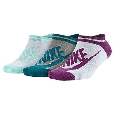 Nike - Calcetines cortos - para mujer multicolor S