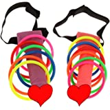 Letmall Bachelorette Party Hoopla Head Ring Toss Game Set,Novelty Girls Night Out Hen Toys Game Party Favor