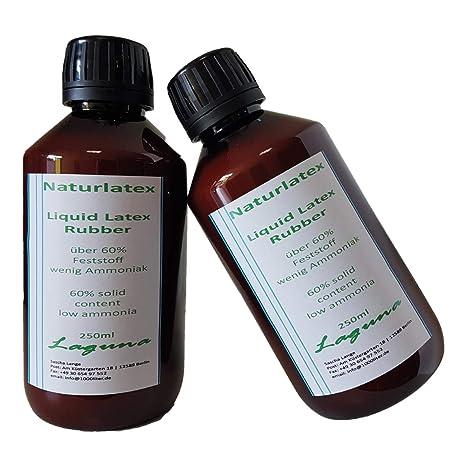 500 ml natural liquid latex, 0.5 L make-up artists\' craft latex milk ...