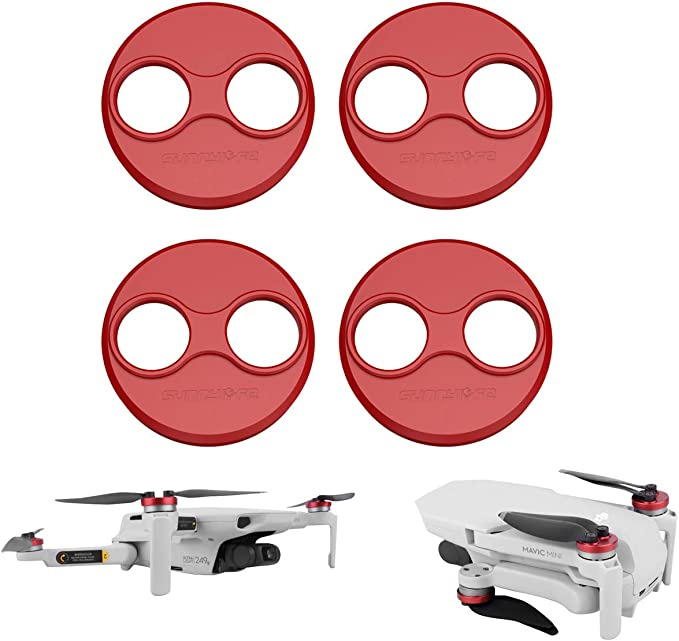 Red YRMJK Aluminium Motor Cover Motor for DJI Mavic Mini//Mavic Mini 2 Drone 4pcs Motor Covers Dustproof Waterproof Protective Cover