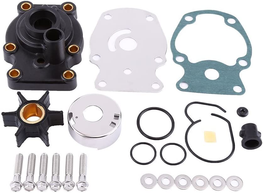 Createshao OMC Water Pump Impeller Kit Johnson Evinrude 1985-Up 18-3382 393630 (20 25 30 35 HP)