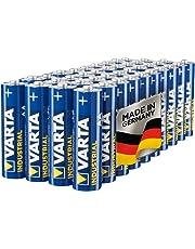 Varta Industrial Batterie AA Mignon Alkaline Batterien LR6 (40er Pack, Made in Germany, umweltschonende Verpackung)