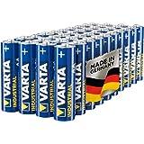 Varta Industrial Batterie AA Mignon Alkaline Batterien LR6 - 40er Pack, Made in Germany, umweltschonende Verpackung