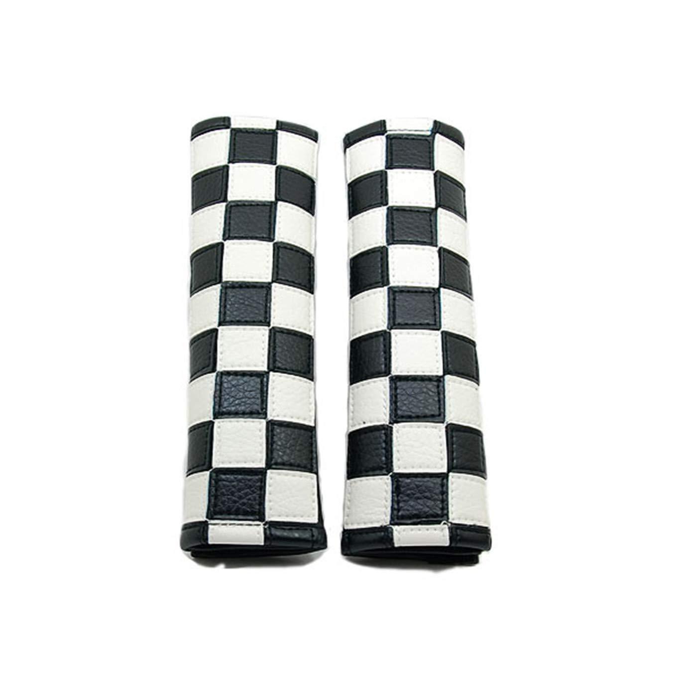 HDX Lot de 2 Housses de Sangle de Ceinture de s/écurit/é pour Mini Cooper F54 F55 F56 F57 F60 R55 R56 R57 R58 R59 R60 R61 Hardtop Clubman Hatchback Covertible Roadster Countryman