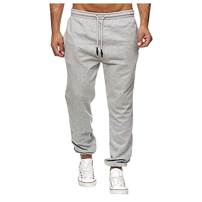 Heetey Pantalones de chándal para Hombre, para Deporte, Fitness ...