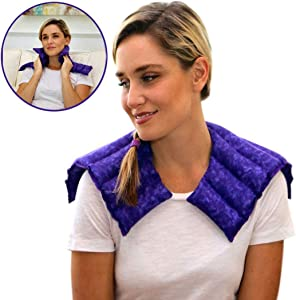 Nature Creation Heating pad for Neck and Shoulders | Microwave Heating pad | Natural hot Packs for Pain Relief with Aromatherapy for Stress Relief | for Neck, sholuders & Upper Back Pain Relief