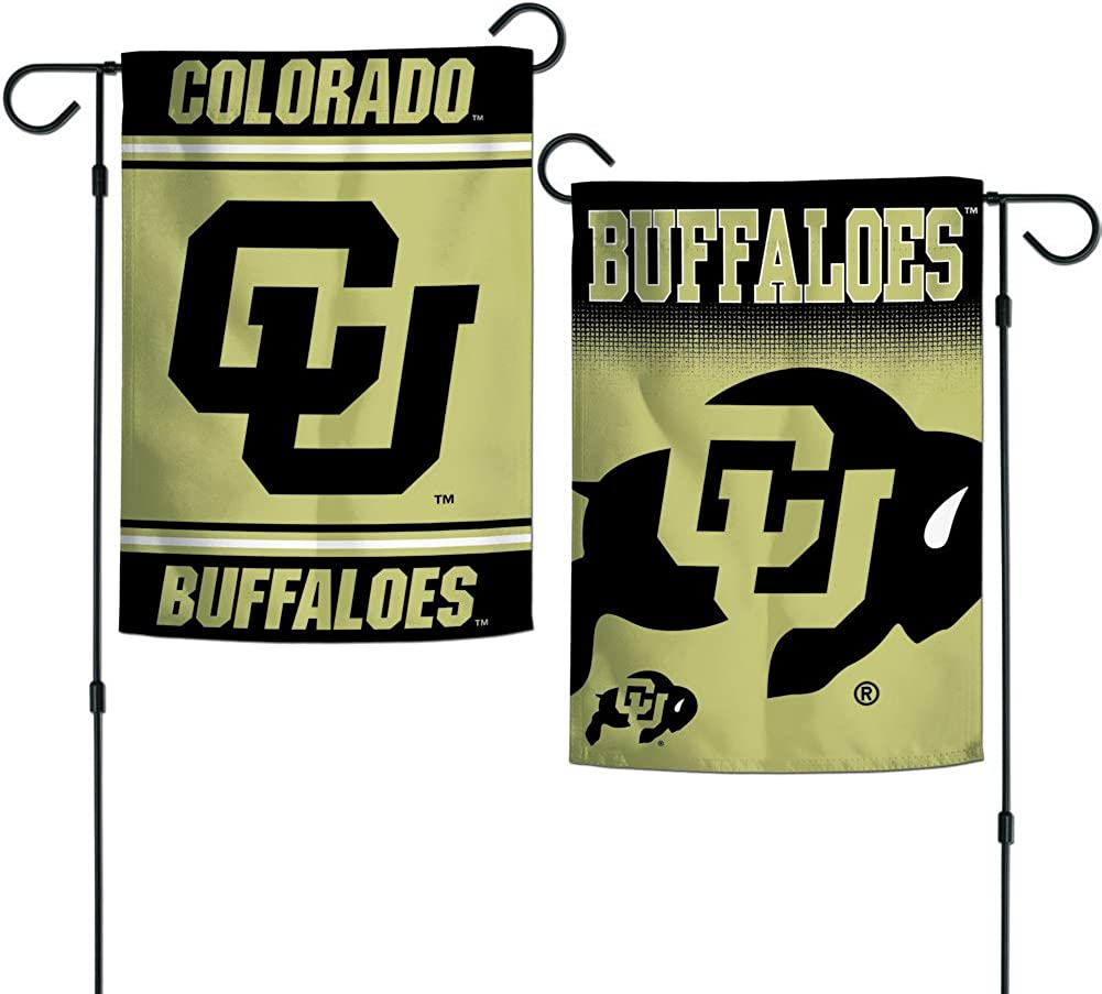 "Elite Fan Shop NCAA 2 Sided Garden Flags 12.5"" x 18"""
