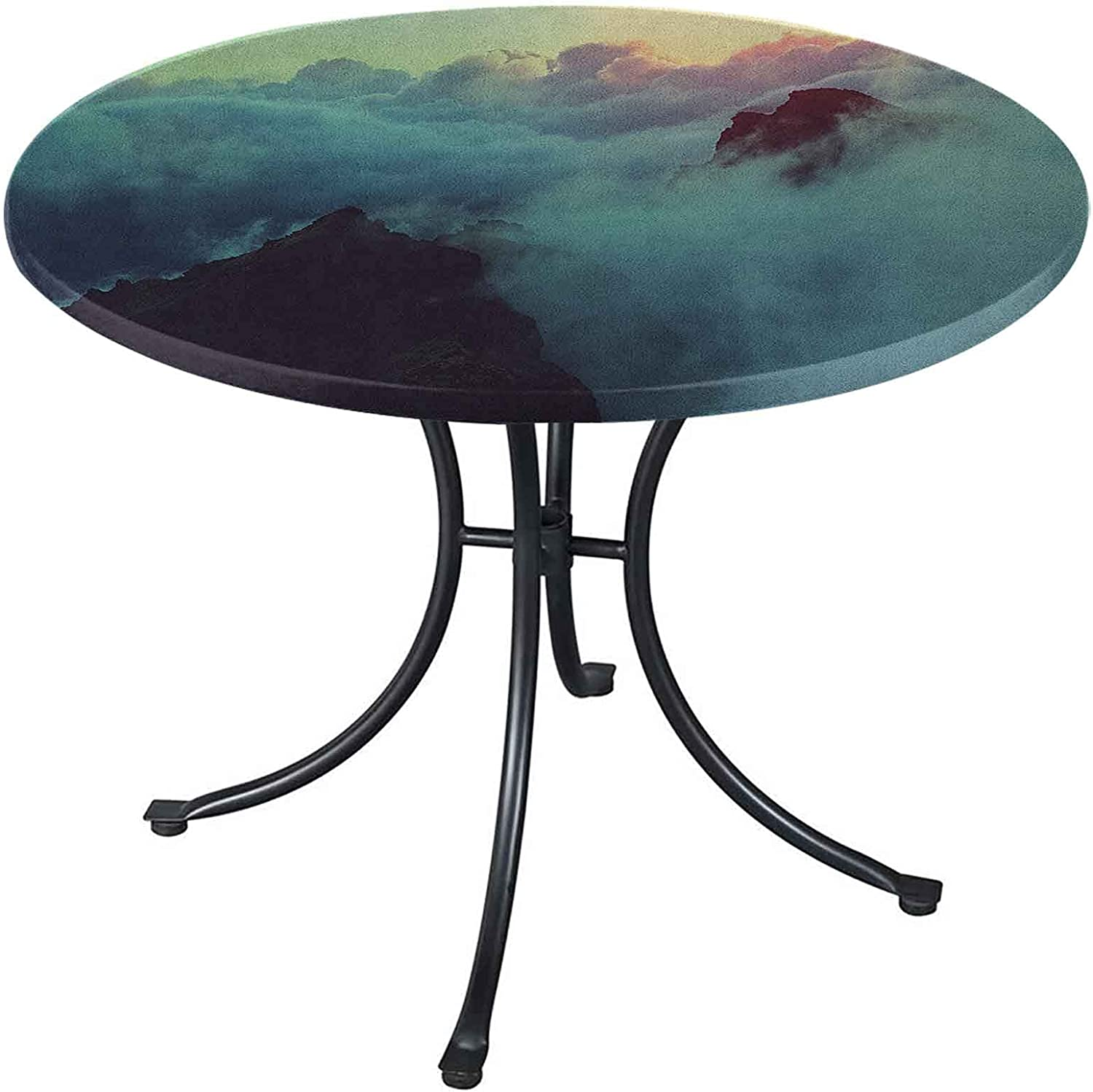 Clouds Round Table Cover 40