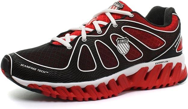 K-SWISS Blade-MAX Express Zapatilla de Running Caballero, Rojo/Negro, 39.5: Amazon.es: Zapatos y complementos