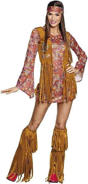 BOLAND 83663 adultos Disfraz hippie Hottie, 36/38: Amazon.es ...